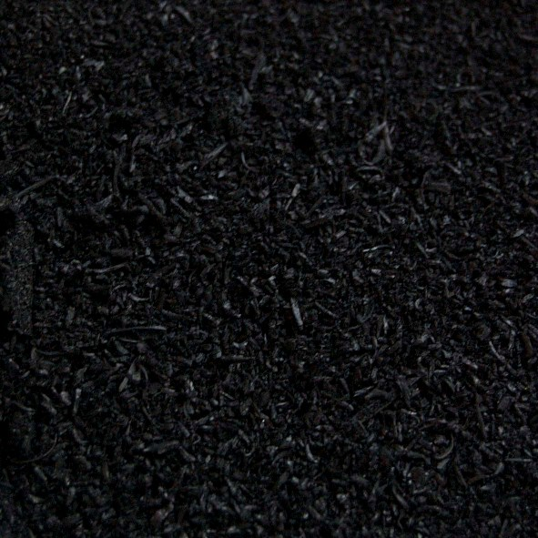 Black Tire Rubber (Powdered) 1pt